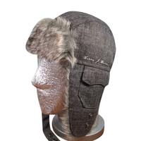 2015 stylish faux fur custom winter trapper hats