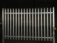 high quality 2750mm palisade fencing