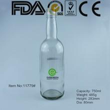 750ml empty glass bottles for beer