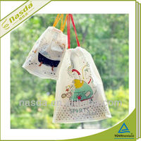100% PP non woven storage bags for travelling die cut bag