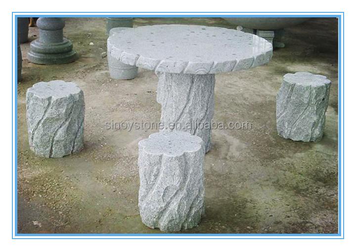 Mesa de jardin de piedra mesas y bancos en piedra para - Mesas de piedra para jardin precios ...