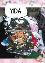 used clothing/ fashion children summer wear boy t-shirt