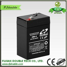 Dry batteries for ups 6v 4ah rechargeable lead acid battery