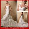 WD-1332 Elegant detachable one shoulder wedding dress london dress wedding 2015