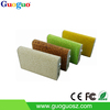 Real Capacity 8000MAH PU Leather Portable Cell Phone Charger Usb Stick Mobile Phone Charger