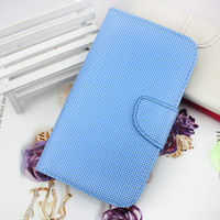 wholesale purse leather case for samsung galaxy note 2 credit card case