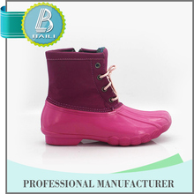 2015 Top quality Cheap Colorful nude girl rubber rain boots