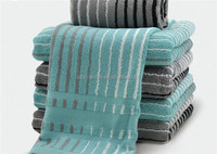100% soft yarn count terry towels from china