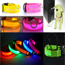cheap led dog collar best price pet dog led collar