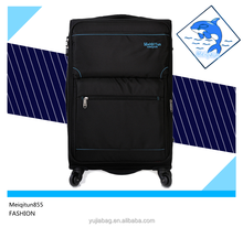 2015 new product universal mute wheels trolley case , polyester bag
