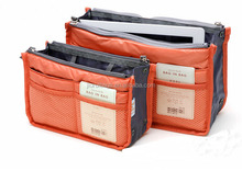 2015 fashion colorful multi compartment cosmetic bag