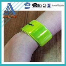 Promotional exhibitions gifts Childrens Reflective Slap Wrap Wristbands wholesale