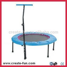 CreateFun 110cm Folding Indoor Exercise Kids Trampoline Games For Sale