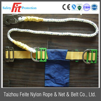 safety belt with tool bag for lineman