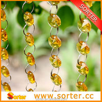 wholesale crystal bead with various colors for wedding or Christmas decoration