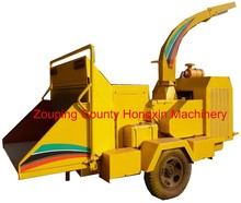 Hot selling diesel engine mobile wood chipper HXBC1000