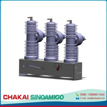 Three phase Pole mounted vacuum circuit breaker