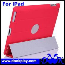 Fashion Hard Smart Back Case For Apple iPad 2 iPad 3 & iPad 4 Magnetic Cover