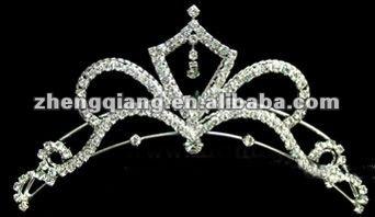 Hot vente Pageant couronne et mariage tiare