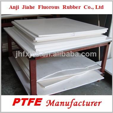 En plastique fabricant de feuille de ptfe teflon blanc, fabriqués en chine