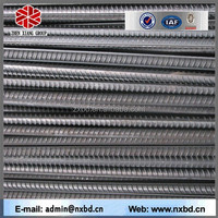 Alibaba china low carbon hot rolled HRB400 HRB35 steel rebar size hs code