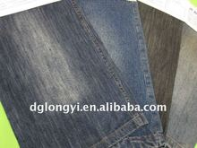 Long Yi 2012 new spandex slub cotton denim fabric for jeans