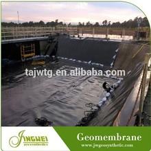high density black rolls geomembrane roof waterproof membrane