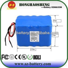 18650 batteries customized capapcity and size li-ion 18650 battery pack power tool lithium ion rechargeable 12v 12 amp battery