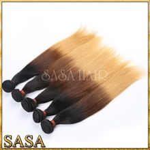 Cheap remy hair bundles wholesale tangle free can be dyed hair extension