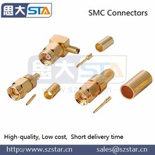 Supplying High quality cable assemble cable connector/RF connector SMC connector