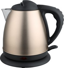 Champion home appliance 360 rotation CE/CB/CCC approval with many colors available stainless steel electric kettle