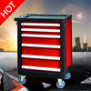 Steel tool box, mobile tool box, iron tool box