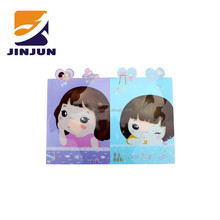 Little girl documents pouch & idea A4 bag & PVC plastic file folder wholesale