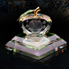Antique style 3d laser cheap sever colors fengshui crystal perfume bottle for car decoration