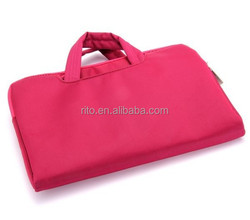 Rose Color Laptop Carry Hand bag for Macbook Retina Pro 13""