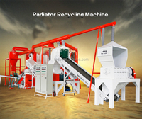 QY-1000A High Efficient Car Air Conditioner Radiator Copper Separator Recycling Machine