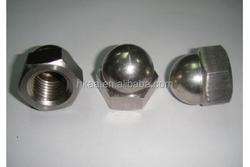 bolt and socket nut cap screw,cap nuts for connector bolts, screwed cap nut