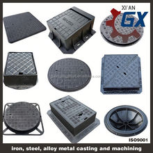 ductile iron concrete manhole cover