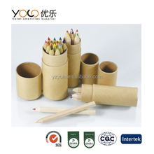 promotional mini colored pencil set hotel and office