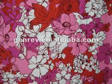 100%cotton woven printed sheeting fabric