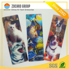 Custom Design With Ribbon Lenticular 3D Bookmark