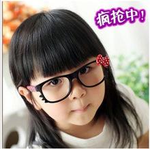 100 ewhxyj KT Cat Children's glasses frame glasses cute baby cat m fashion glasses sunglasses for kid