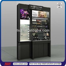 TSD-W527 Custom design retail store makeup counter display,makeup showcase,cosmetic point of sale display