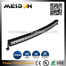 """50000 hours above life time 240w double row curved led light bar 31""""180w curved led light bar"""