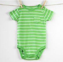 Newborn clothes baby green long-sleeve baby product