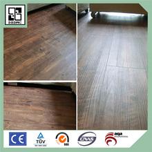 Indoor Commercial Roll Wood PVC Vinyl Flooring Interior Interlocking PVC Tile Flooring