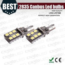 Best selling automobile194 w5w t10 led car lights canbus 194