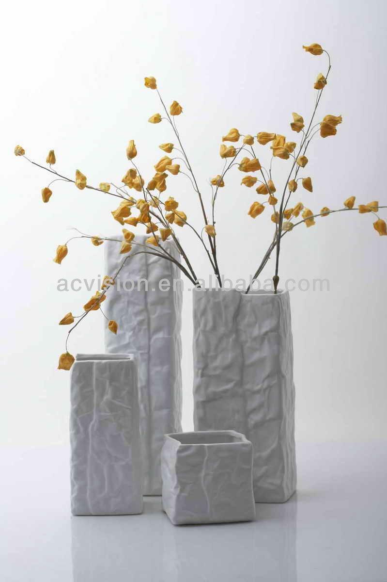 Contempor neo jarrones de suelo grandes jarrones for Jarrones decorativos grandes