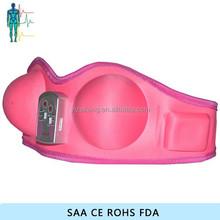 De color rosa vibrante del masaje del seno / desnudo massager del pecho