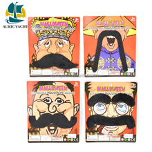Wholesale party supplies,6 pieces party moustache supplies for halloween